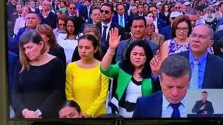 Dante bendice al nuevo presidente de El Salvador y