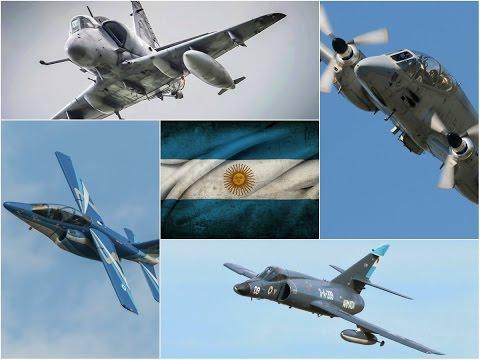 Aviones de combate argentinos - 100 SUSCRIPTORES!