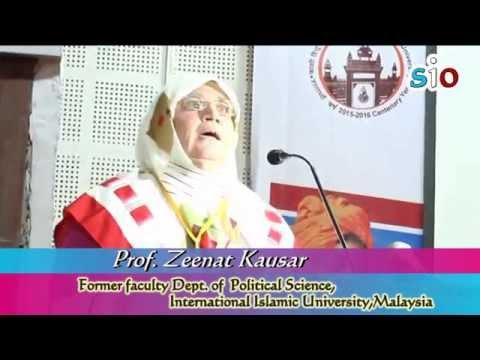 Enhancing Communal Harmony and National Integration by Prof. Zeenat Kausar @ICCHNB 2015