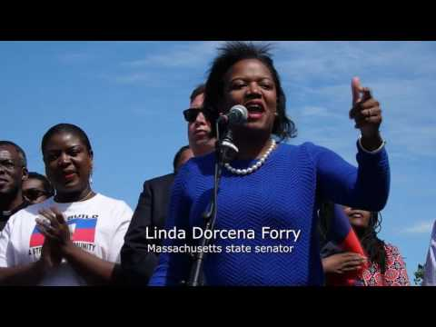 Haitian Flag Day Celebration in Boston, Massachusetts