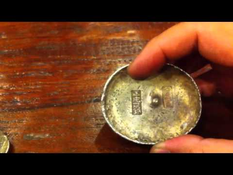 My Rare Antique Chinese Silver Sycee ingot Collection