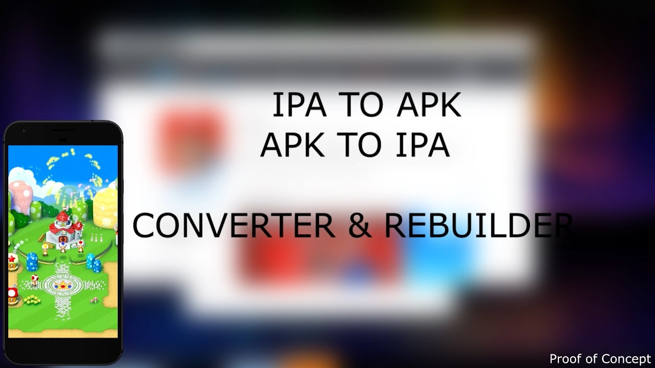 Converting .apk to .ipa (droid/android apps to iPhone) - iHackMyi
