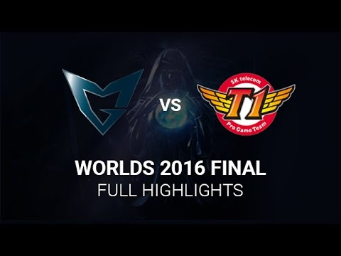SK Telecom T1 vs Samsung Galaxy Worlds Final Highlights All Games, S6 Worlds 2016 Grand Final, SKT v