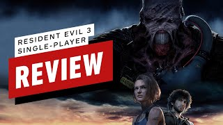 Resident Evil 3 Single-Player Review (Video Game Video Review)
