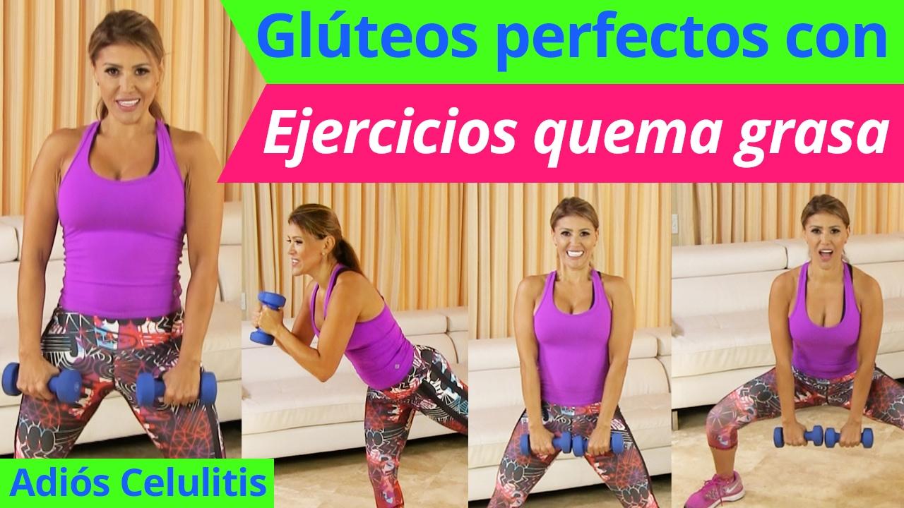 Gl teos perfectos con ejercicios quema grasa desde tu casa adi s celulitis youtube - Quema grasa desde casa ...