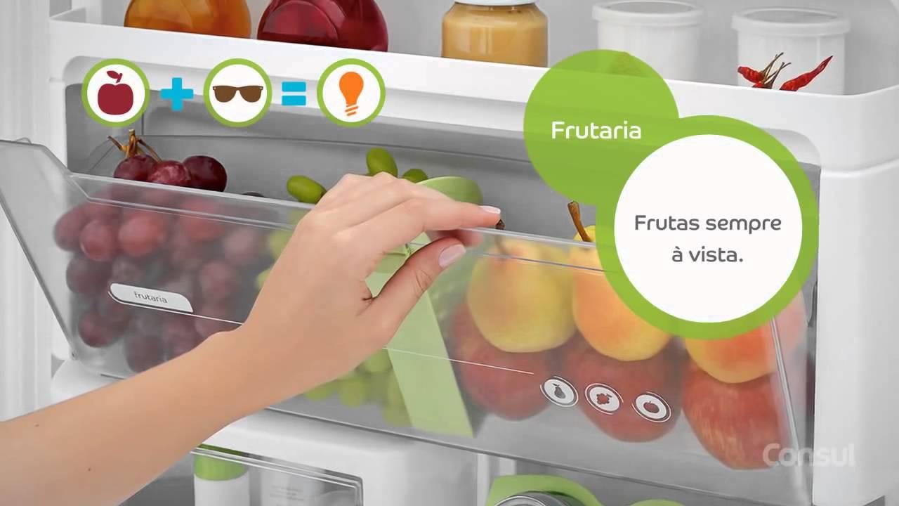 9292a8168 Geladeira   Refrigerador Duplex Consul Bem Estar Evox