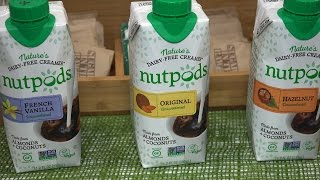 A visit with Nutpods during Winter Fancy Food Show