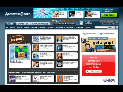 How to make a free website with Games and HTML code devices on it