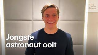 Nederlandse Oliver (18) de ruimte in: 'Gevaarlijker dan zomaar vliegen'