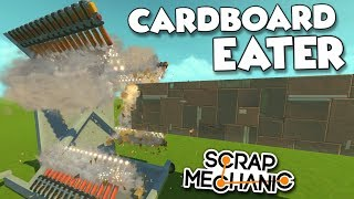 SATISFYING SPUD GUN DESTRUCTION And LASER BEAM Scrap Mechanic Creations Episode 133