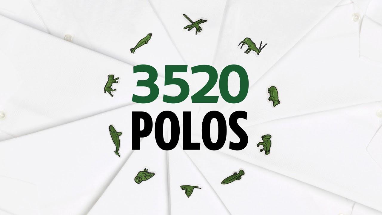 Son Save Renouvelle Opération Species Our BiodiversitéLacoste 3RAq5j4L