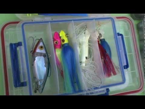 Items for offshore kayak fishing 2012
