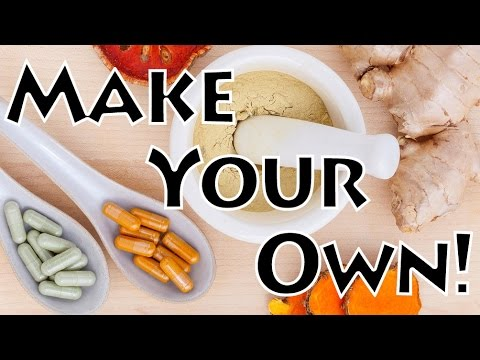 How to Make Herbal Supplements!