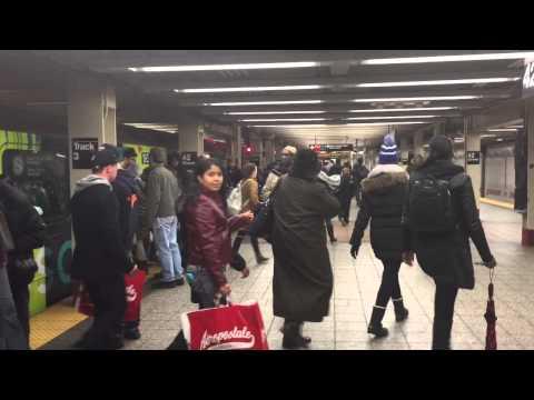 NYC SUBWAY 2015 MANHATTAN UNDERGROUND