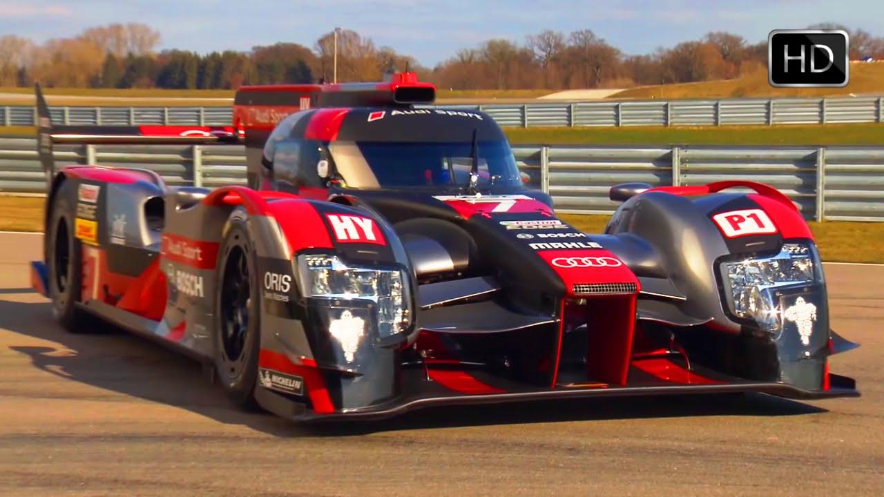 2016 Audi R18 E Tron Quattro Le Mans Prototype Lmp