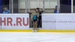 Алина Горбачева, короткая программа, 1 спортивный разряд, 10 лет