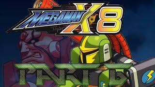 The Lightning Rod - Mega Man X8 - Playthrough - Part 6 - Stay Cool Vile!