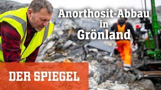 Abbau von Anorthosit: Dieses Gestein soll Grönland reich und klimafreundlich machen   DER SPIEGEL