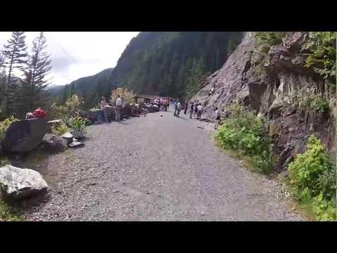 Iron Horse Trail, Bike Riding along Deception Crags Rock Climbing Area
