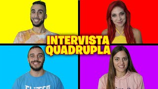 😍 INTERVISTA QUADRUPLA con HIMORTA, FIUS GAMER e GIUSEPPINA!