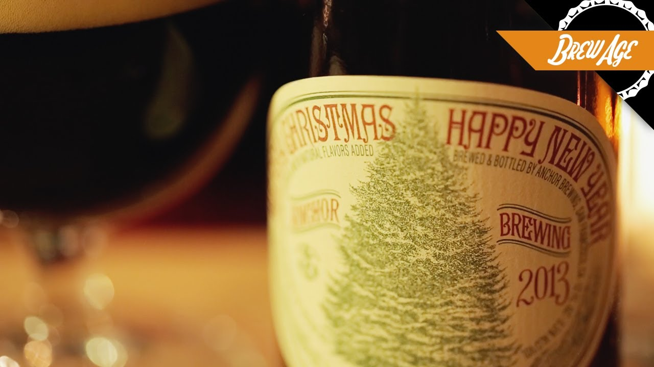reinventing the christmas ale with anchor brewing - Anchor Brewing Christmas Ale