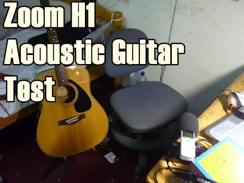 Zoom H1 Acoustic Guitar Test (MP3)