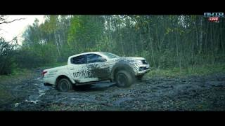 FIAT Fullback тест-драйв -- FIAT Fullback Offroad обзор pickup