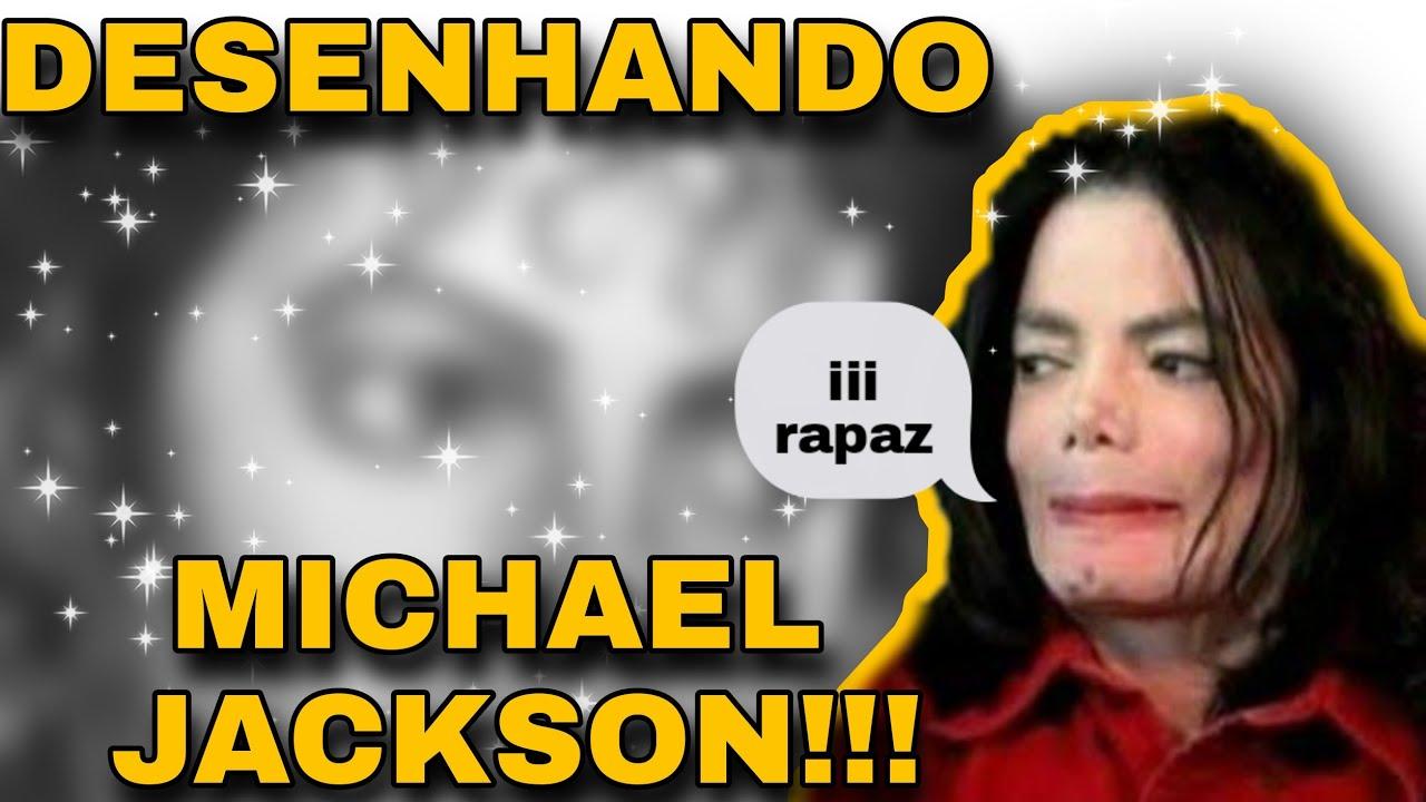 *DESENHANDO MICHAEL JACKSON* !! DRAWING THE KING OF POP