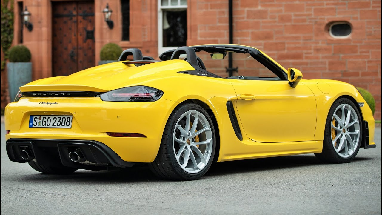 2020 Porsche Boxster Spyder Research New