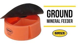 Sioux Steel Ground Mineral Feeder