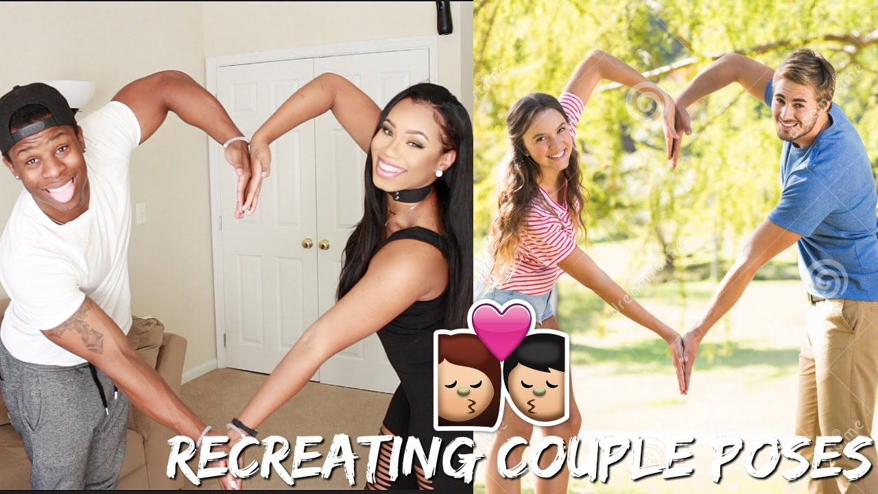 Image of: Gif The Random Vibez Recreating Cute Couple Poses Tumblr Af Youtube