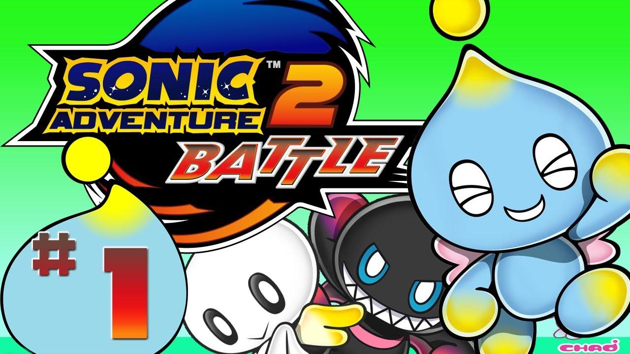 Sonic Adventure 2 Battle Chao Garden Episode 1 Youtube