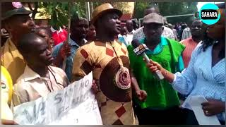 Non-Academic Staff Members Paralyze Activities At UNILAG In Protest On Non-Payment Of Allowances