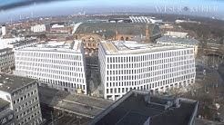 Zeitraffer: Neubau City-Gate am Bremer Hauptbahnhof