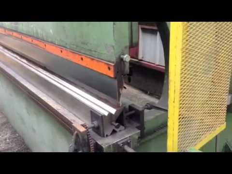 Hidrahulic italian press brake