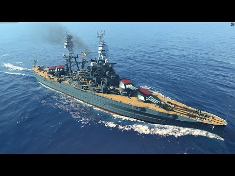 World of Warships - Arizona Tier 6 Premium American Battleship Overview