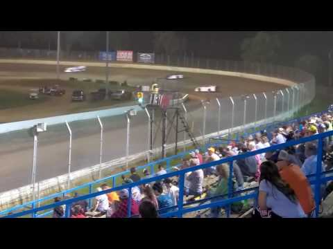 Super late models 30 lap feature race at Florence speedway 7/29/17
