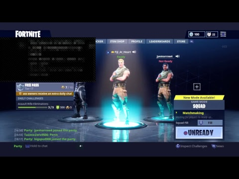 Fortnite  With c moore duo  road to 140 subs