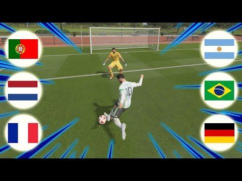 GRANDE FINAL DO CAMPEONATO DE SELEÇÕES 1vs1 !!   FIFA 19