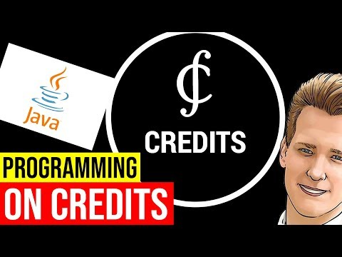 Programming on Credits and Overview - Wallet, Java, MD5 Update, etc...