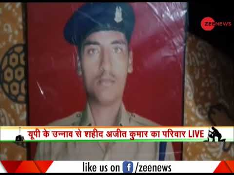 Pulwama terror attack: Family of martyred jawan Ajit Kumar speaks to Zee News