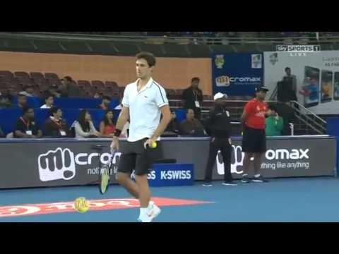 Nadal & Bopanna vs Roger Vasselin & Huey FULL MATCH HD IPTL New Delhi 2015