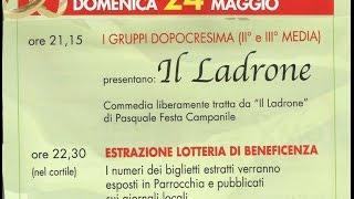 """""""IL LADRONE""""   35° SAGRA MADONNA DELLA PACE - Ravenna"""
