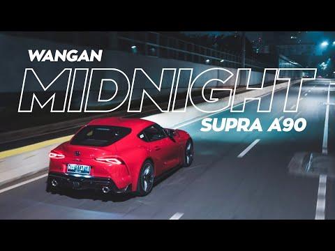 Jalan-jalan Malem Pake Supra A90 | Test Drive + Photo Shoot