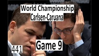 Carlsen-Caruana ¦ Game 9 ¦ 'The Match is Heating up!'