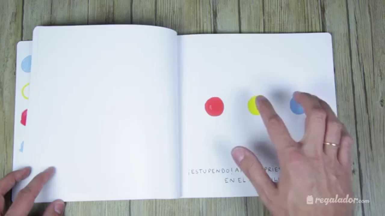Un libro (Hervé Tullet) - YouTube