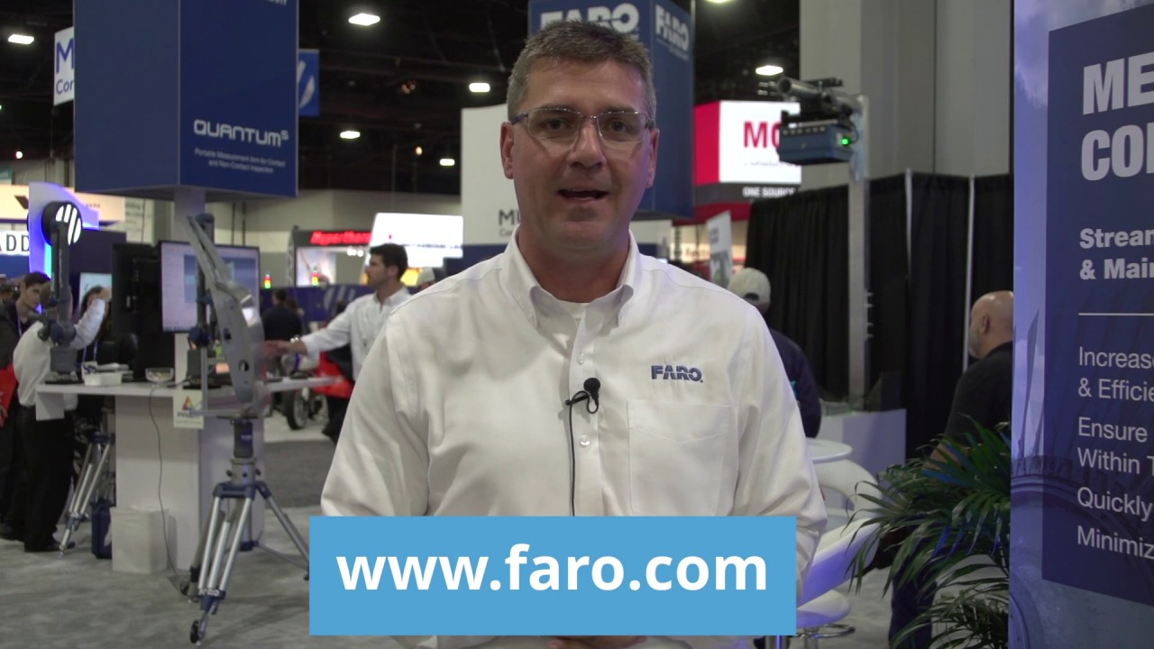 FARO Technologies Showcases 3D Measurement, Imaging Products at FABTECH 2018
