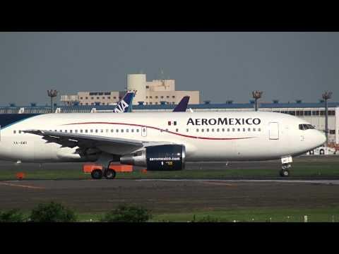 AeroMexico Boeing 767-200ER Takeoff Narita International Airport【NRT/RJAA】