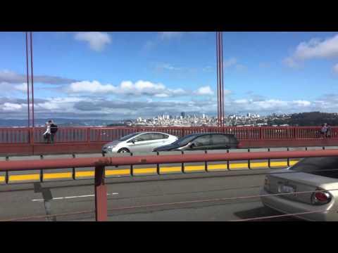Сан Франциско. На велосипеде по мосту Золотые ворота
