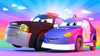 Tom der Abschleppwagen -  Klein Matt das Polizeiauto verfolgt einen Raser und fährt in einen Late...